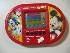 Electronic Handheld Game, Mickey Mouse Yahtzee Jr, by Hasbro, works great