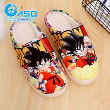 Anime Dragon Ball Son Goku Kakarotto Soft Plush Antiskid Indoor Home Slippers