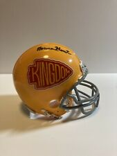 Norma Hunt Autographed Kansas City Chiefs Custom Mini Helmet Signed Photo Match