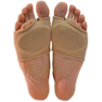 1 Pair Gel Forefoot Metatarsal Ball Of Foot Pads Toe Silicone Cushion Support