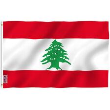 Anley Fly Breeze 3x5 Feet Lebanon Flag The Lebanese Republic Flags Polyester