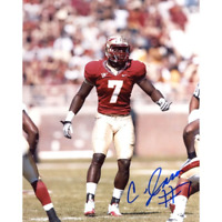 Christian Jones Autographed Florida State Seminoles 8x10 Photo