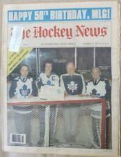 MAPLE LEAF GARDENS - 50TH ANNIVERSARY -  THE HOCKEY NEWS - NOVEMBER 20, 1981