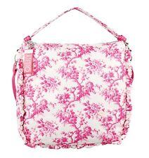 Oilily Tasche Birdy LVZ Hobo Rose Damen Handtasche Schultertasche Rosa Weiß