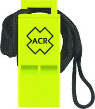 Boat Marine Hiking Safety ACR RES-Q Whistle w/Lanyard USCG  & SOLAS 83 Approved
