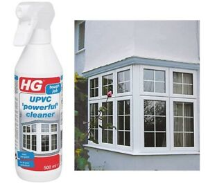 UPVC Window Frame Cleaner Solvent Dirt Sill Cleaning Spray Conservatory PVC Door