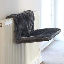 Grey Comfy Radiator Cat/kitten Bed Warm Heated Snug/basket Hammock Pet Cradle