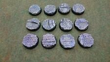 Runic Temple Ruins 10* 32mm Round base          Warhammer 40k Mantic Warpath etc