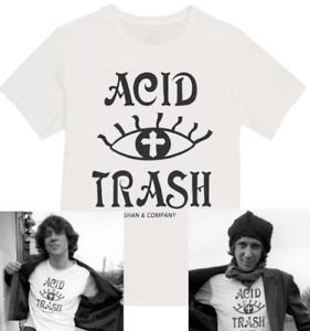 Acid Trash T-shirt design as seen on Richard Hell Television Neon Boys Voidoids