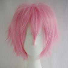 Short Cosplay Wigs Women Men Male Halloween Hair Unisex Full Wig Costume Party T