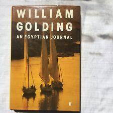 Willam Golding Egyptian Journal 1st Ed HB/DJ