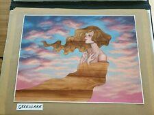 Audrey Kawasaki As I Fall  poster  print  MINT poster S/N
