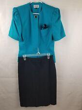 KASPER FOR A.S.L. SUIT WOMEN'S OFFICE/CAREER SKIRT SUIT SZ 12