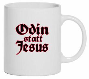Tasse Kaffeebecher   Odin statt Jesus   614-T-01   Wotan   Religion