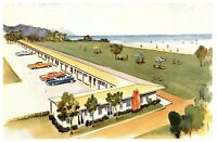 Lot 2 Deane's Oceanside Lodge, Waldport, Oregon  Vintage Postcards