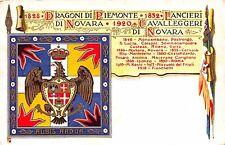 C2762) VERONA, CAVALLERIA, REGGIMENTO LANCIERI DI NOVARA, FORMATO PICCOLO. VG 19