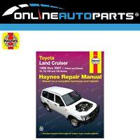 Haynes Car Repair Manual Book suits Landcruiser FZJ105 HDJ100 HZJ105 100 Series