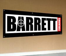 BARRETT Firearms Banner 2' x 6' - Excellent Condition! Pistol Ammo