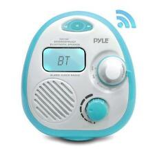 Pyle Psr16Bt Bluetooth Splash Proof Water Resistant Alarm Clock Radio
