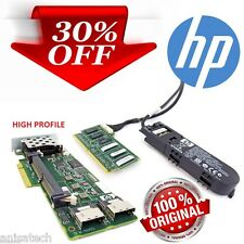 HP  P410 High Profile Bracket SATA/SAS 6GBs 512MB CACHE RAID Controller Battery