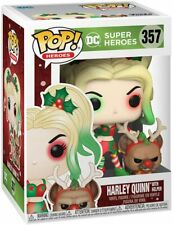 Funko Pop! DC Heroes: DC Holiday - Harley Quinn with Helper 357 50656 In stock