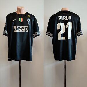 Football shirt soccer FC Juventus Away 2012/2013 jersey Nike Italy Pirlo #21 XL