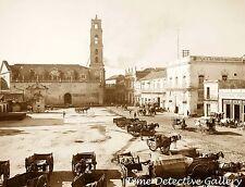 Custom House Plaza, Havana, Cuba - 1905 - Historic Photo Print