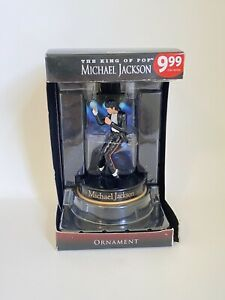 2010 Michael Jackson collectible Christmas Ornament The King Of Pop in Box