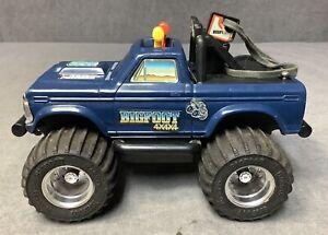 Vintage 1983 Playskool BIGFOOT Monster Truck with Key - 4x4 - See Description