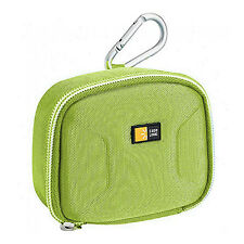 Compact Point and Shoot Camera Case Pouch Cover Bag w/ Carbineer and belt strap