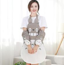 Studio Ghibli My Neighbor Totoro Gray Apron Kitchen Cooking Home Wear Cosplay