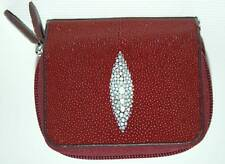 Stingray ID Wallet, Genuine Stingray Leather Wallet, Stingray Credit Card Wallet