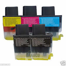 5 Pack LC41 Compatible ink cartridge for Brother MFC-210C MFC-420CN MFC-620CN