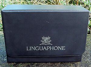 Vintage 1995 French Linguaphone Cours De Francais Cassette and Hardback Books
