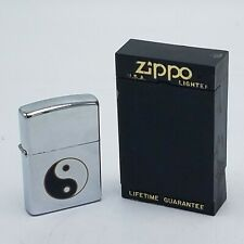 Zippo Lighter Cool Retired Yin Yang Black & White