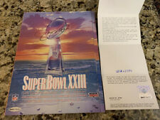 Joe Montana Autographed Signed Super Bowl XXIII Program UDA LE 29/416