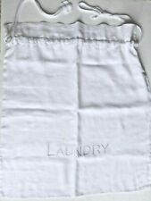 THE WHITE COMPANY 100% LINEN LAUNDRY BAG