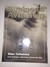 Business & Commercial Aviation Magazine Turbulence November 1999 FAL 111716RH