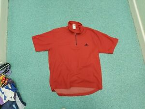 Adidas Large Mens Red Cycle Jersey