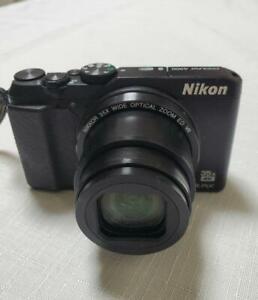 Nikon COOLPIX A900BK 20MP Wi-Fi 35x Optical Zoom 4K Digital Camera