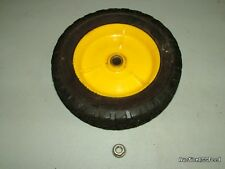 "Weed Eater 961140004 22"" Mower - 8"" YELLOW Front Wheels 532146248 & Nut"