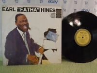 "The Earl Hines Trio, Earl ""Fatha"" Hines, Epic Records LN 3501, 1958, JAZZ"