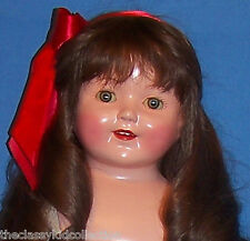 """Large 28"""" Effanbee Composition Marilee Doll - Beautiful!"""