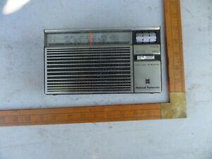 VINTAGE OLD NATIONAL PANASONIC 2 BAND TRANSISTER RADIO MODEL R-218R