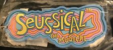 Seussical The Musical - Original SEALED Rubber Keychain from 2000 Broadway Show