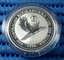 1996 Australia Kookaburra Silver Coin European Privy Mark Series Great Britain