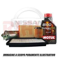 Kit Tagliando 5 lt Motul 8100 Xclean EFE 5W30 Filtro per Nissan Qashqai 1.5 dCi