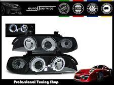 NEUF FEUX AVANT PHARES LPBM29 BMW E39 1995-2000 2001 2002 2003 ANGEL EYES