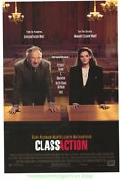 CLASS ACTION MOVIE POSTER Original SS 27x40 GENE HACKMAN 1991