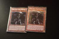 2x Ignoble Knight of Black Laundsallyn Yugioh Card NKRT-EN005 Platinum Rare